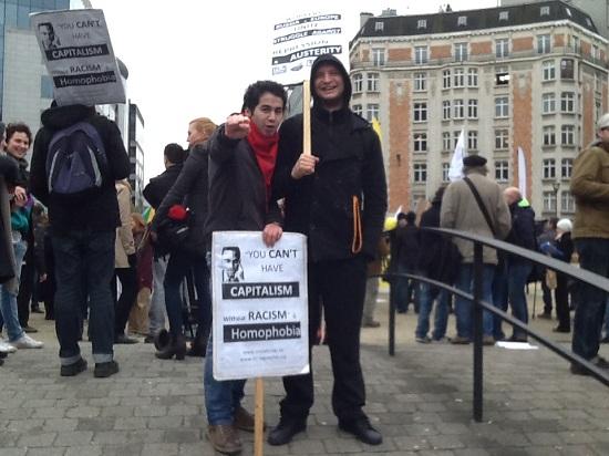 Protest tegen repressie in Rusland