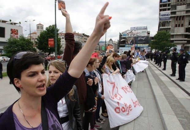 Bosnië. Nieuwe revolte van werkenden en werklozen