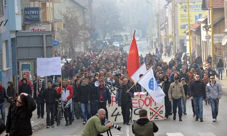 Bosnisch massaprotest overstijgt etnische verdeeldheid