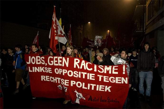 Geen fascisten in onze stad!