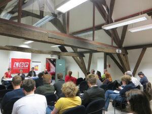 Meer foto's van het debat