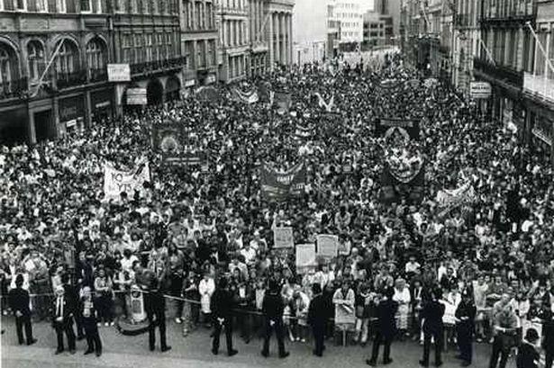30 jaar geleden. Toen Liverpool Thatcher versloeg
