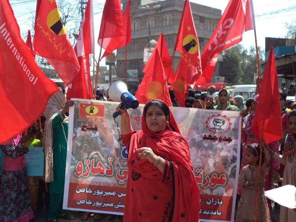 Internationale vrouwendag in Pakistan