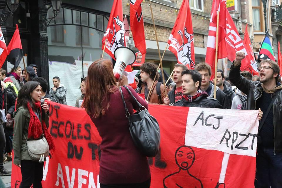 Betoging tegen repressie en politiegeweld