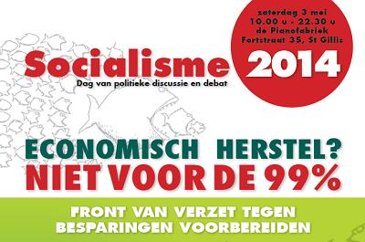Socialisme 2014: front van verzet tegen besparingen voorbereiden