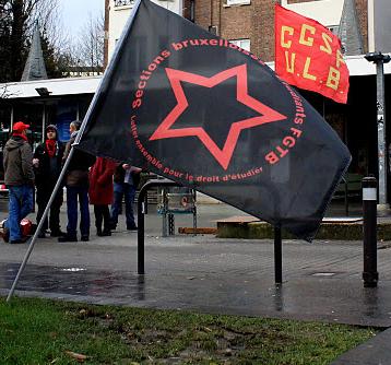 Interview: Guy van Union Syndicale Etudiante, ULB