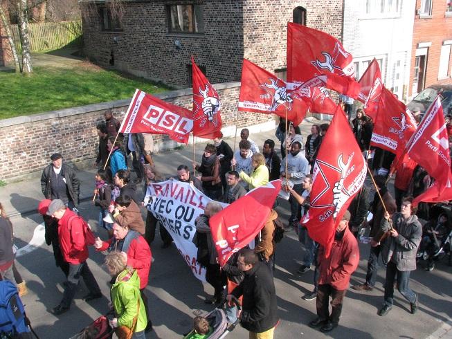 Honderden betogers tegen asociale asielbeleid