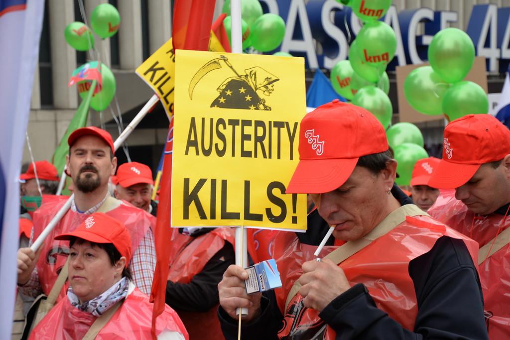 Radicale stemming op Euromanifestatie van 4 april
