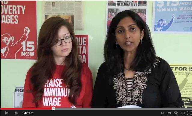 Kshama Sawant en Jess Spear over de overwinning in Seattle