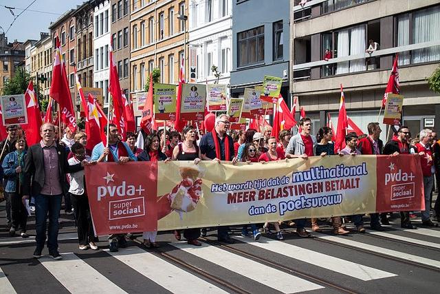 Voorstellen om de doorbraak van de PVDA te versterken