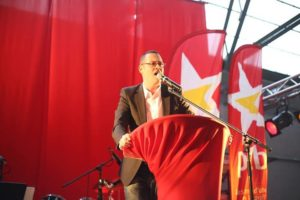 Raoul Hedebouw. Foto: PPICS - banque d'images
