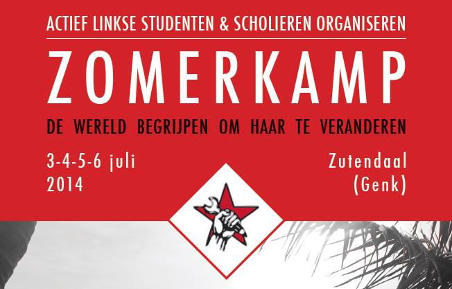 Zomerkamp 3-6 juli. Get up, stand up!
