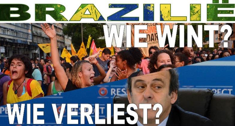 Brazilië. Wie wint? Wie verliest?