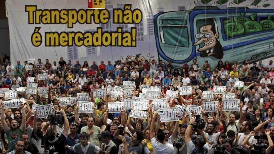 Solidariteit met Braziliaans protest – actie komende vrijdag in Brussel
