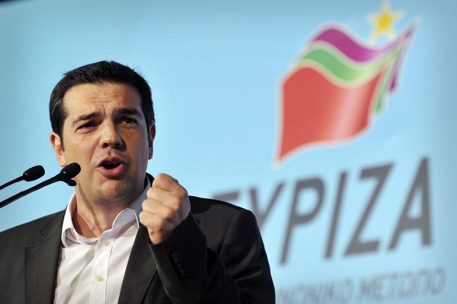 Griekenland. Syriza grootste partij in Europese verkiezingen