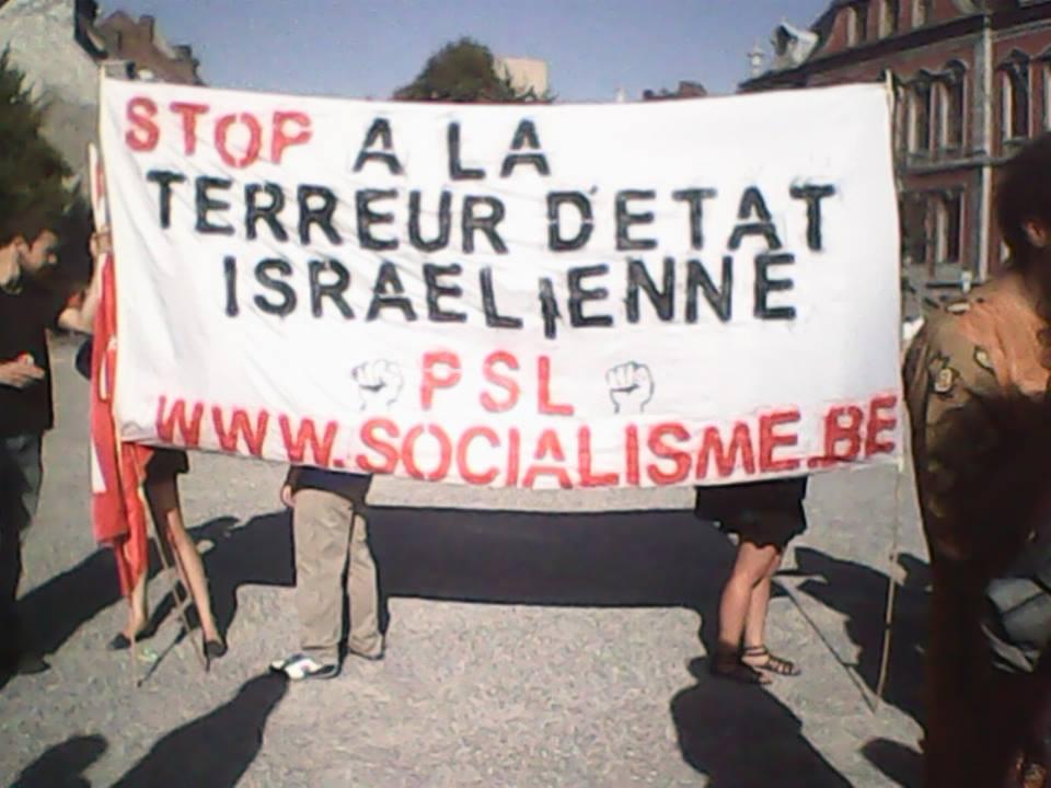 Gaza. Betoging in Luik
