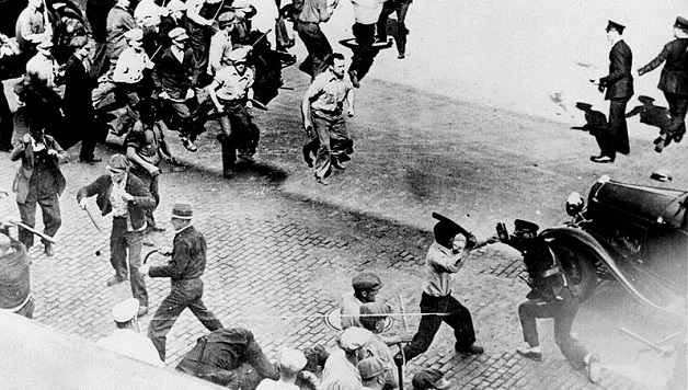 80ste verjaardag van de Teamster stakingen in Minneapolis