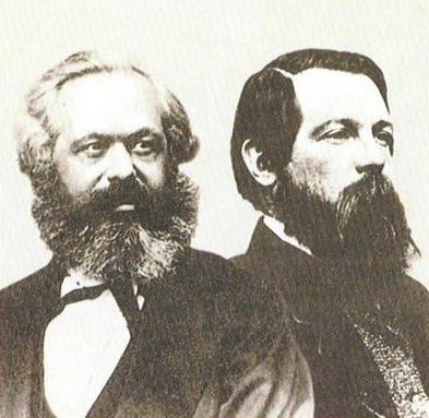 Vaak gestelde vragen. Wie waren Marx en Engels?