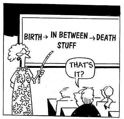 Vaak gestelde vragen. Wat is de zin van het leven?