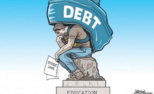 Lenen om te studeren? Neen aan de studieschuldenberg!
