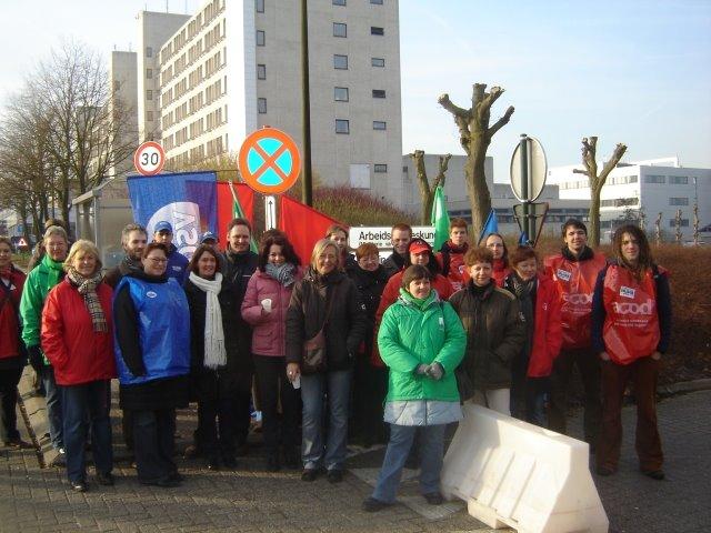 Staking bij ASZ in Aalst. Ziekenhuizen continu onder vuur door besparingsdrift