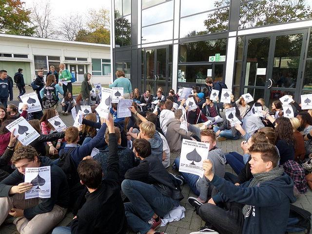 Woensdag scholierenstaking in Gent