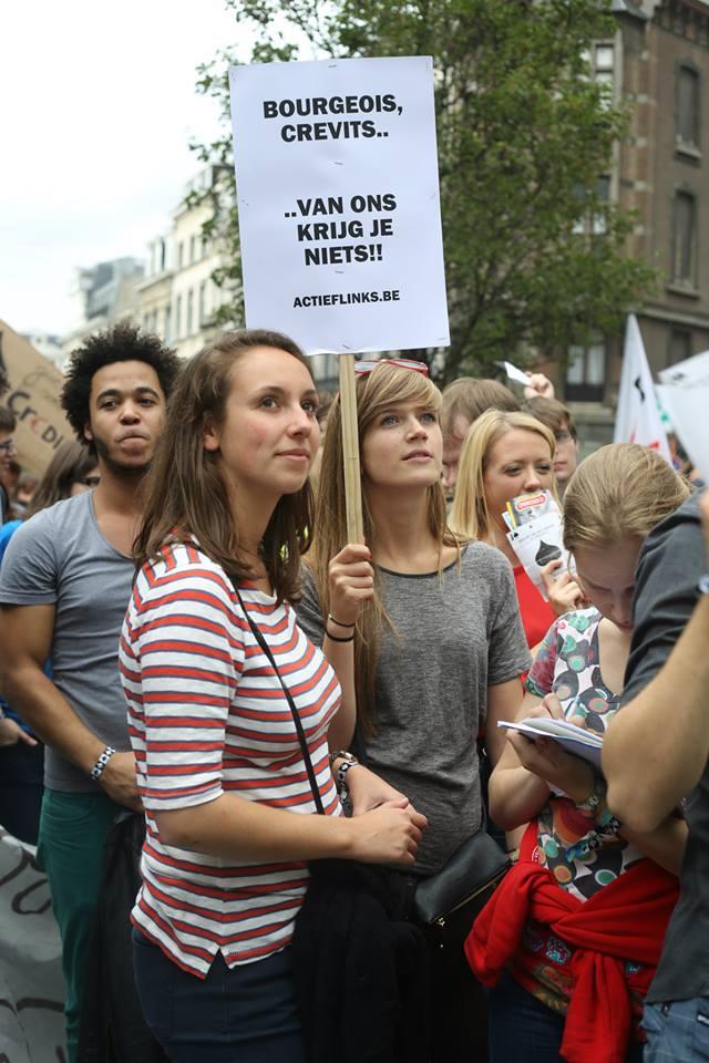Morgen betoging in Gent tegen verhoging inschrijvingsgeld en besparingen op onderwijs