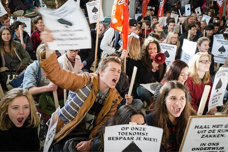 Scholierenstaking in Gent: volgende afspraak op 6 november!