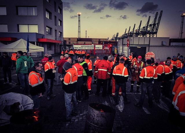 #24nov. Fotoreportage van rechter- en linkeroever in Antwerpen