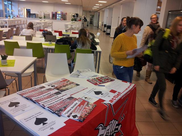 #24nov. Studenten van PXL in Hasselt vervoegen de strijd