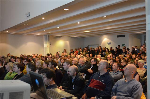 Strijdbare ABVV-meeting in Gent
