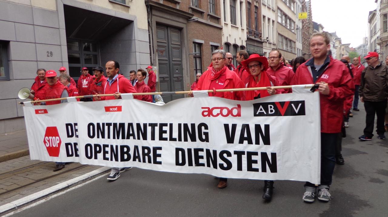 Belgische Thatchers in actie… Ontmanteling en uitverkoop van openbare sector