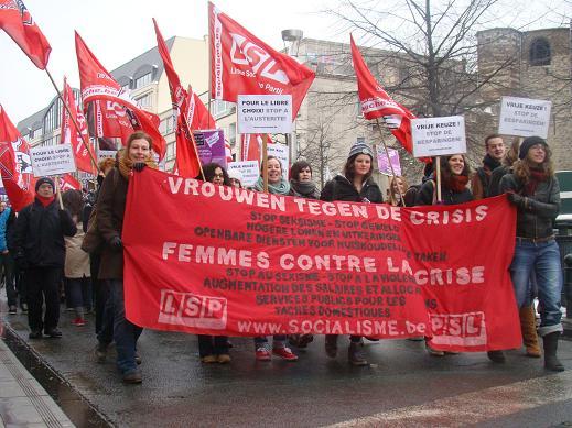 Belgische Thatchers in actie…Vrouwen in de vuurlinie van het besparingsbeleid