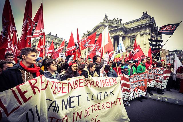 De jongeren herontdekken de arbeidersbeweging