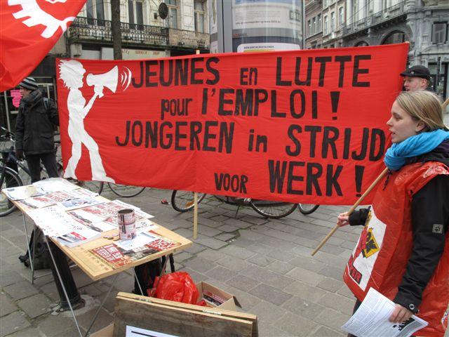 Het zijn de stakers die voor het recht op werk opkomen, niet de anti-stakers