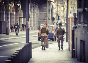 Het leger wordt ingezet in Antwerpen. Foto: MediActivista