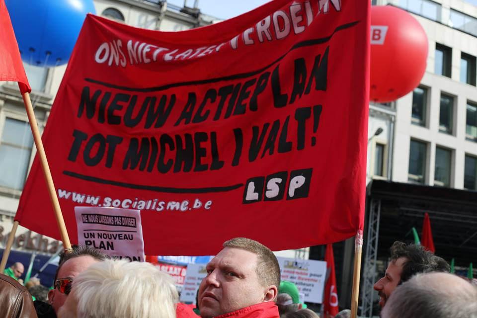Protest openbare diensten. Nieuw actieplan tot heel het besparingsbeleid weg is!