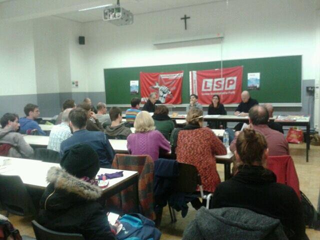 NSV probeert Leuvense meeting te verstoren