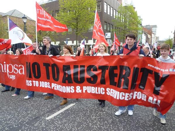 Morgen staking in publieke sector in Noord-Ierland