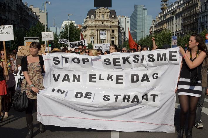 #wijoverdrijvenniet. Strijd tegen seksisme blijft nodig