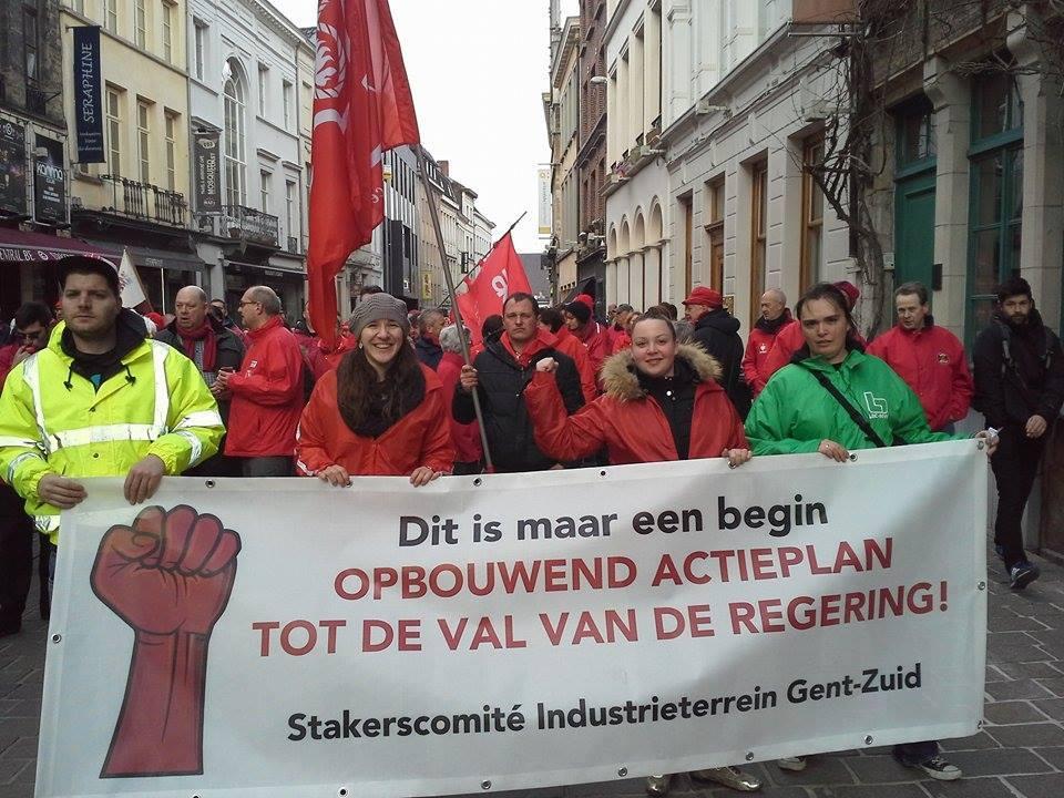 Actiedagen van vakbonden brengen opnieuw duizenden op de been