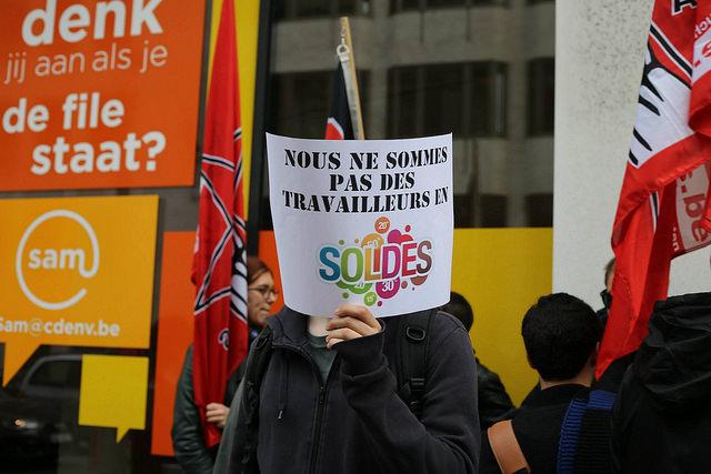 Raak niet aan het minimumloon voor jongeren! Actie aan CD&V