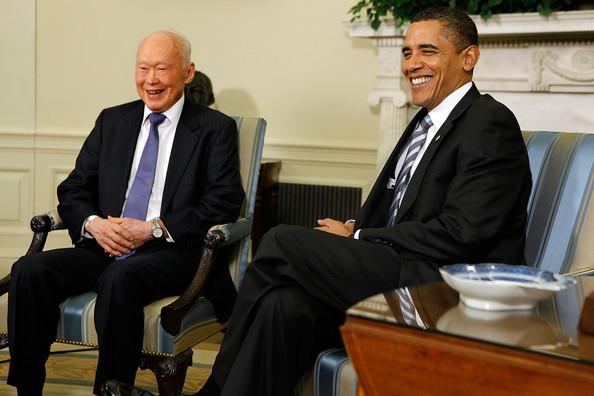 Singapore. Voormalige premier Lee Kuan Yew overleden