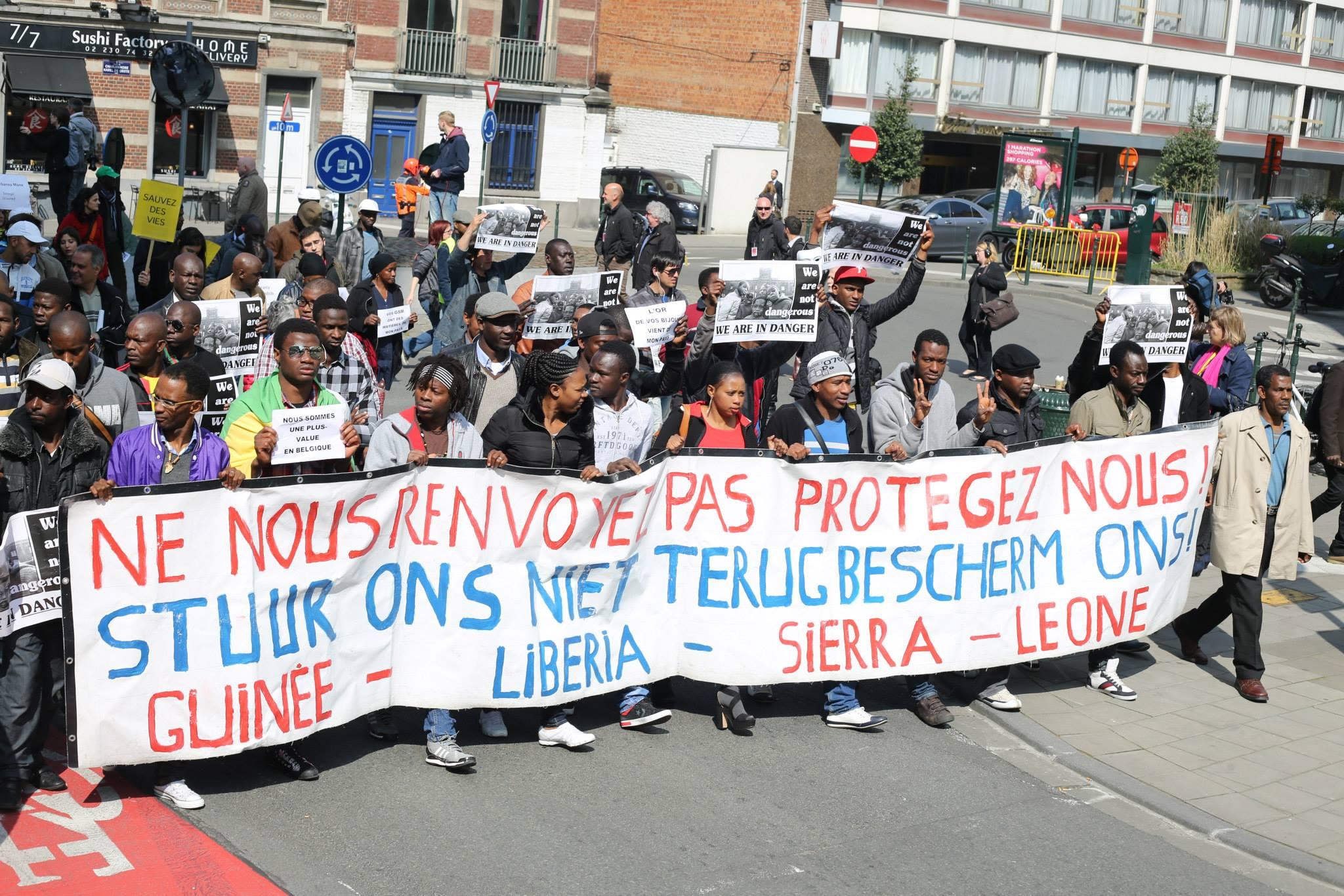 Betoging tegen zoveelste dodelijke asieldrama op Middellandse Zee