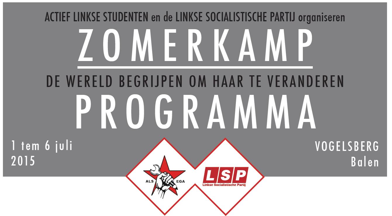 1-6 juli – zomerkamp van ALS en LSP // Programma en info