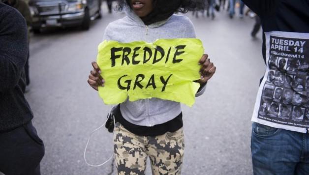 Woede in Baltimore na dood van Freddie Gray