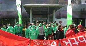 Syndicale militanten afgedankt: protest bij Toyota Motors Europe