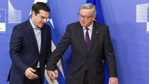 Tsipras en Juncker
