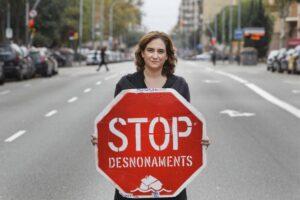 De nieuwe burgemeester van Barcelona, Ada Colau