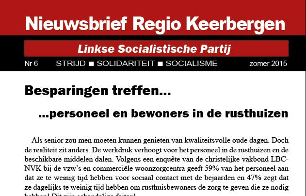LSP Keerbergen: Neen aan de besparingen!